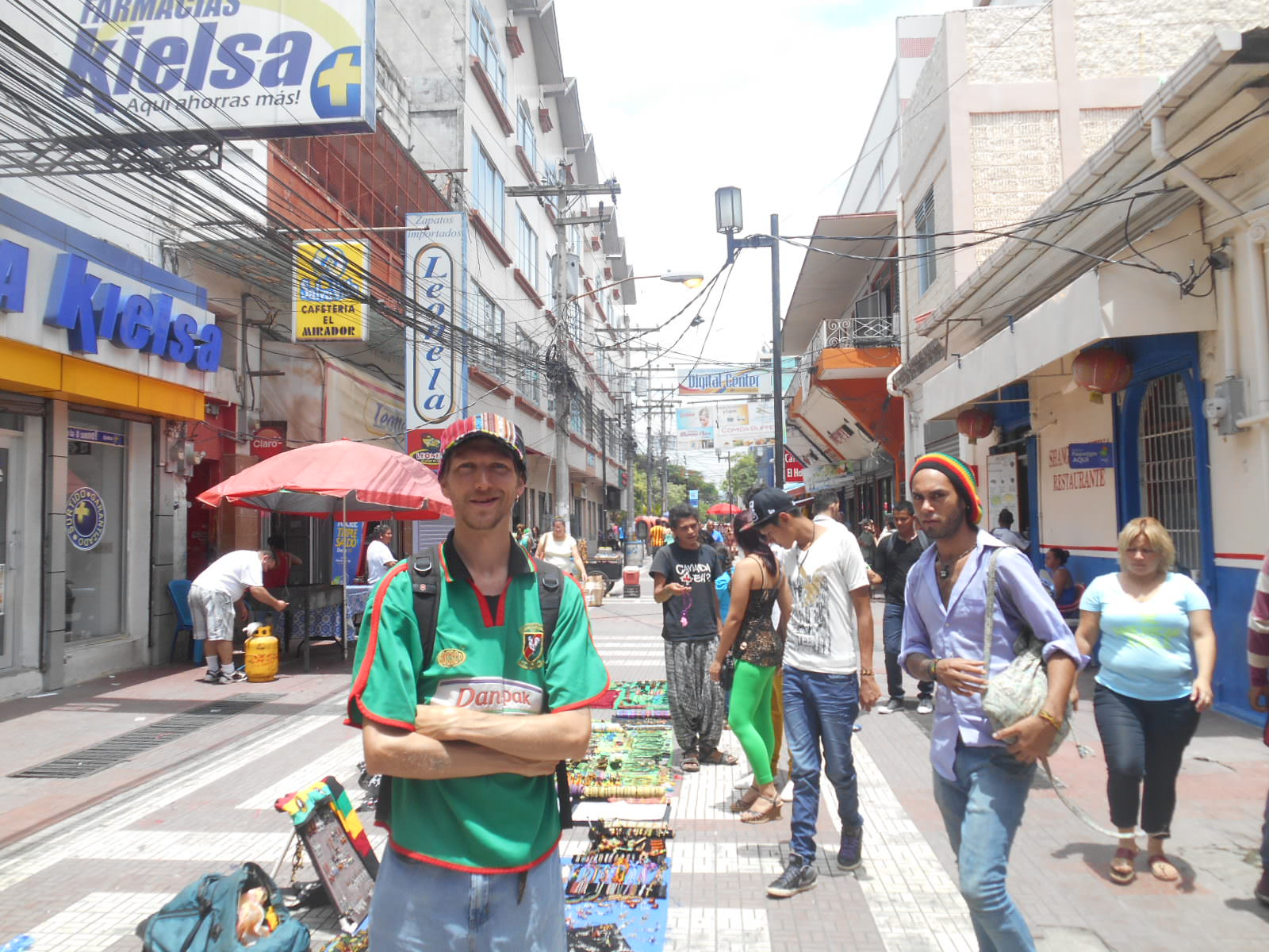 backpacking in san pedro sula  honduras  braving the most