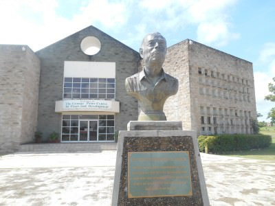 The George Price centre in Belmopan, Belize.