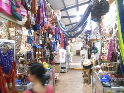 Arts market in San Pedro Sula