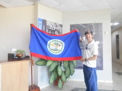 Backpacking in Belize - enjoying our time in Belmopan, the nation's capital city.