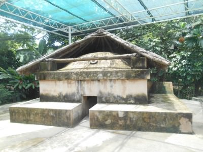 The replica of Temazcal - what it would have looked like.