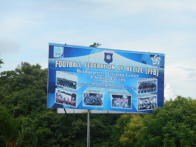 The national stadium in Belmopan, Belize currently doesn't meet FIFA's requirements.