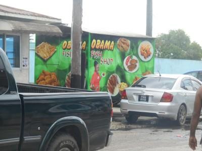 The Obama Fish Shop...