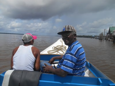 Touring the Essequibo River - it's 1,010 kilometres long!