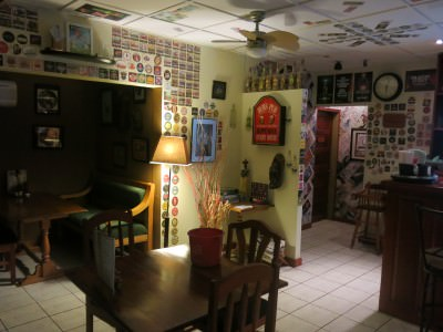 Friday's Featured Food - dinner at Corker's Belmopan - Belize's only British Pub.