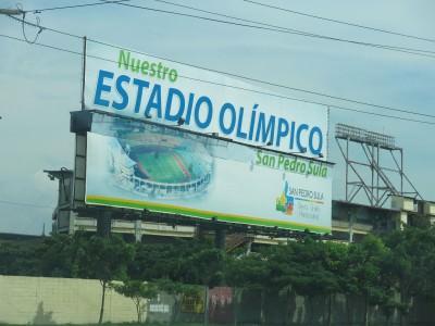 Estadio Olimpico, San pedro Sula, Honduras.