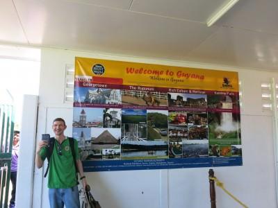 guyana suriname arrival