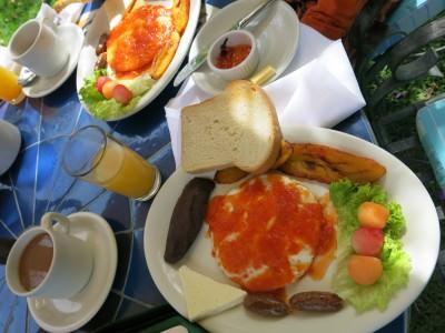 Fantastic breakfast - Desayuno Tipico.