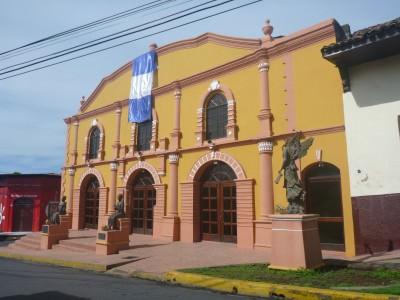 Main theatre in Leon, Nicaragua.
