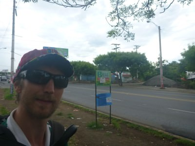 Backpacking in Managua for about 20 minutes!