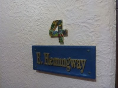 Room 4 - Ernest Hemingway.