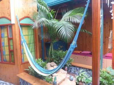 Hammocks to relax in Kaps Place