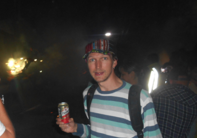 Another beer at the fireball festival!