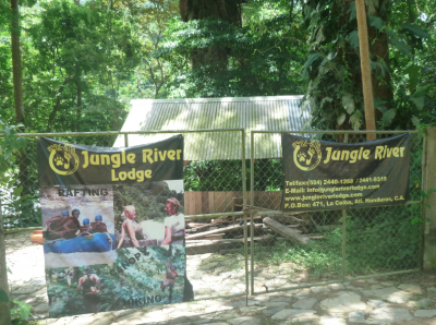 Jungle River Lodge - home of Jungle River Tours.
