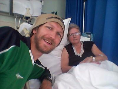 Get well soon Mum.
