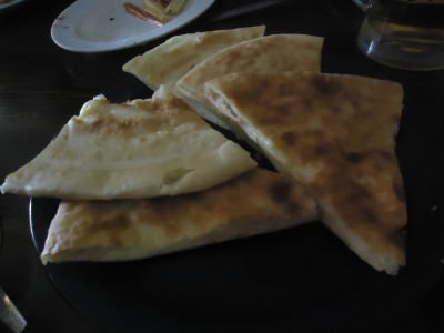 Khachapuri in Gori, Georgia.