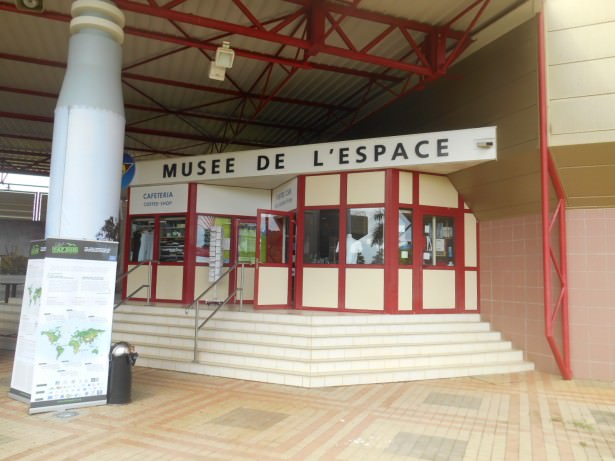 The Space Museum in French Guyana.