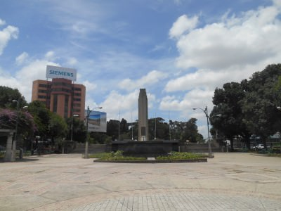 Independence Monument in Guatemala City.