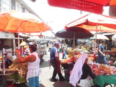 Mercado Central in San Salvador.