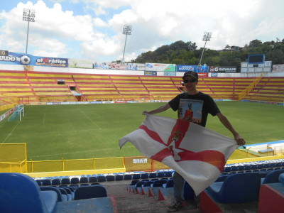 Estadio Cuscatlan in San Salvador, El Salvador.