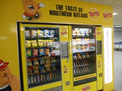 The taste of Northern Ireland - arrival back in Belfast - Tayto Land.