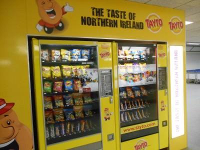 The taste of Northern Ireland - arrival back in Belfast - Tayto Land.