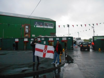 Spartak Moscow tried and failed, they couldn't beat Glentoran in their Belfast home.