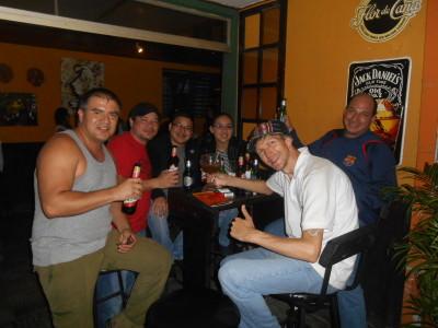partying san salvador