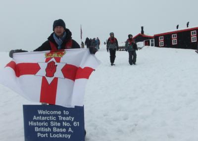 ireland flag antarctica