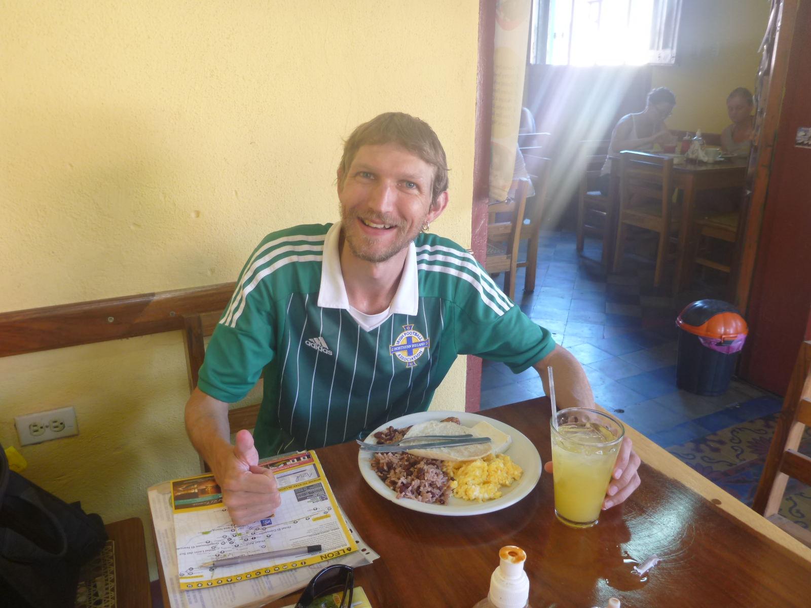nicaraguan breakfast leon