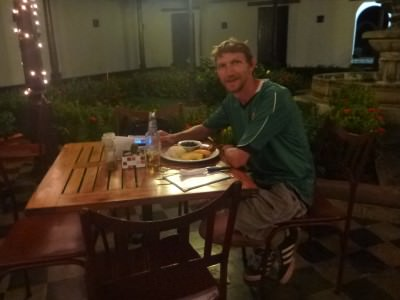 Last dinner in Nicaragua in Granada.