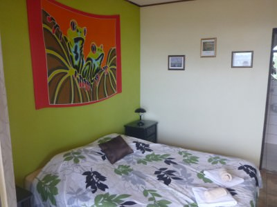 My excellent room - it had colour, warmth and a balcony.
