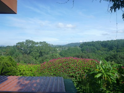 Wow! The views from Vista Linda Montana in Alajuela.