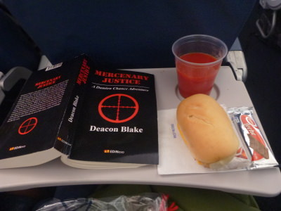Book review of Mercenary Justice by Deacon Blake.