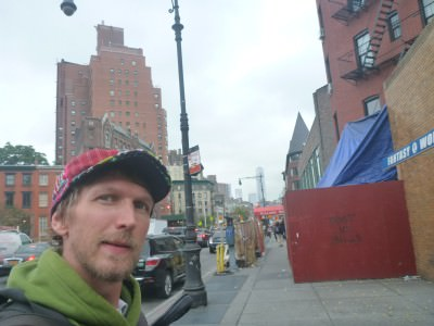Being the complete idiot and mixing up 8th Street with 8th Avenue in NYC!!