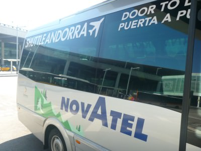 Novatel bus station to Andorra