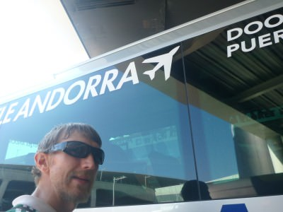 Leaving for Andorra