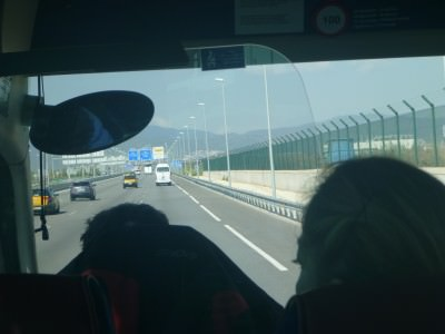 Leaving Catalonia.