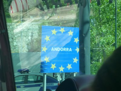 Arrival in Andorra!