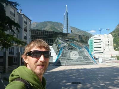 The xtravagant Caldea centre in Escaldes Engordany, Andorra.