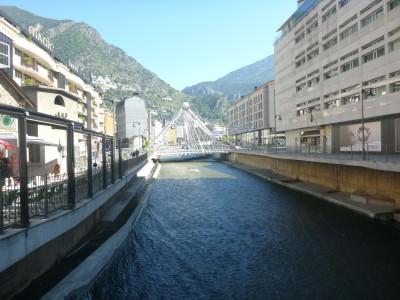 Backpacking in Andorra - Andorra La Vella, the capital city.