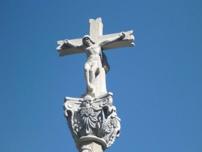 An odd monument in Andorra La Vella.