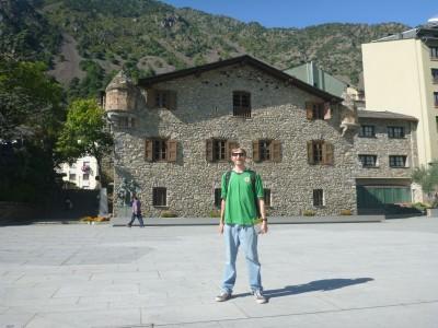 Casa de la Vall in Andorra La Vella.