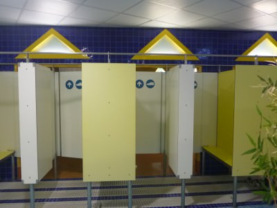 Changing Rooms in Caldea.