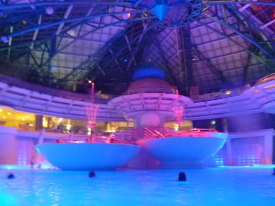 Caldea - largest spa centre in Southern Europe