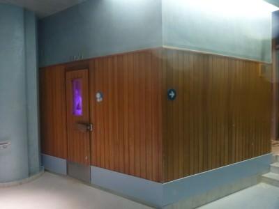 Sauna in Caldea.