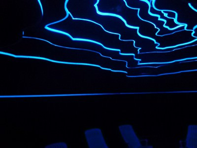 The dark room.