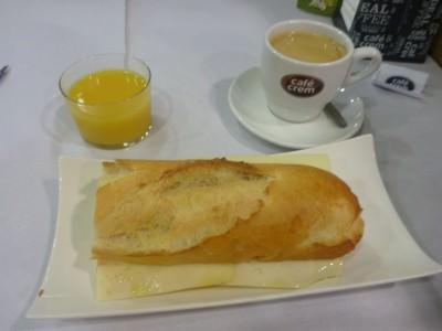Fab breakfast at Residencia Nuria in Escaldes Engordany, Andorra.