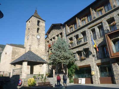 Backpacking in Andorra: Exploring the Gorgeous Town of Ordino.