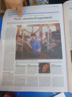 An appearance in a US film from the village of Ordino.